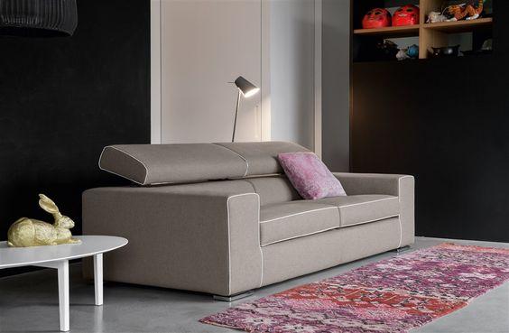 Tekno #sofa #design #interiordesign #relax #divano #reclinabile #removable covers #reclinable