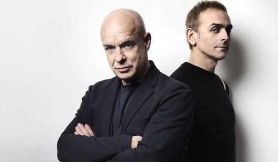 Un disco en conjunto entre Brian Eno y Karl Hyde de Underworld