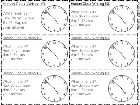 Worksheets Parts Of A Clock time our class the human clock use for hours minutes and let kids become different parts of watch them master telling elapsed in a
