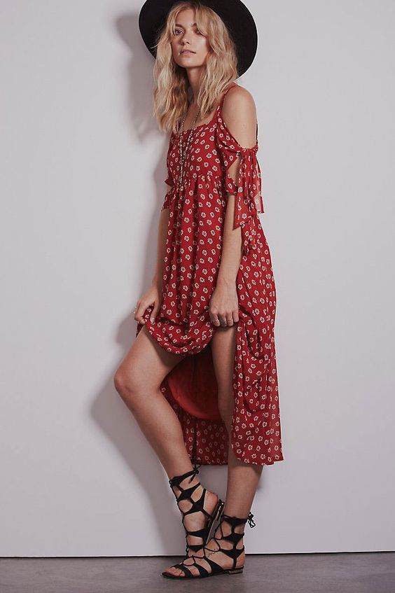 15 Carefree, Patterned Sundresses You'll Live In All Summer #refinery29 http://www.refinery29.com/sundresses#slide6