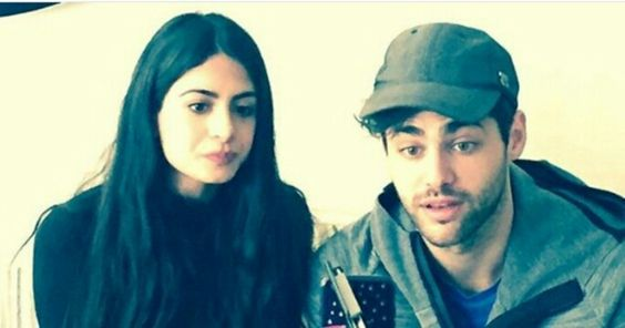 Em and Matt for the live chat