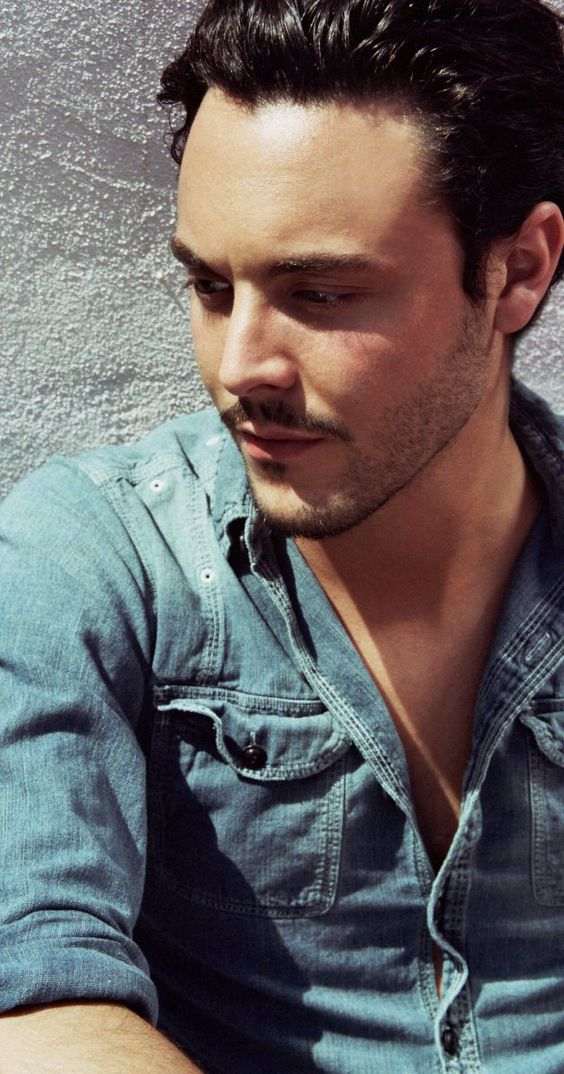 Jack Huston from Boardwalk Empire.....didn't really follow ...
