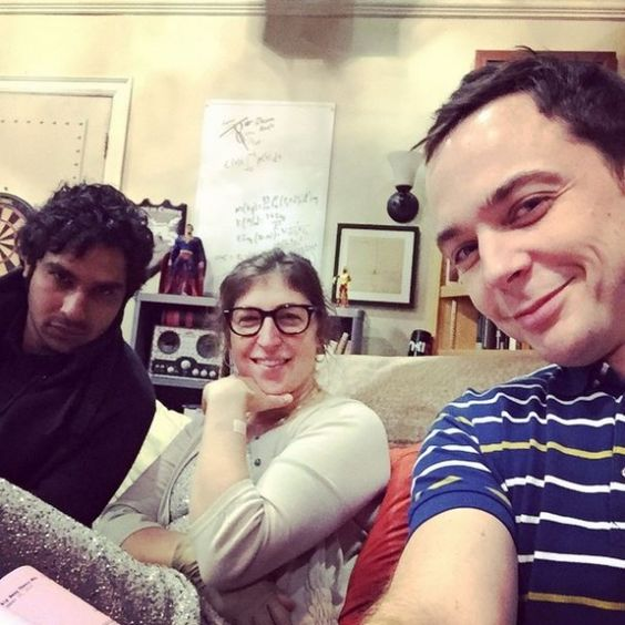 Jim Parsons, Mayim Bialik & Kunal Nayyar - The Big Bang Theory
