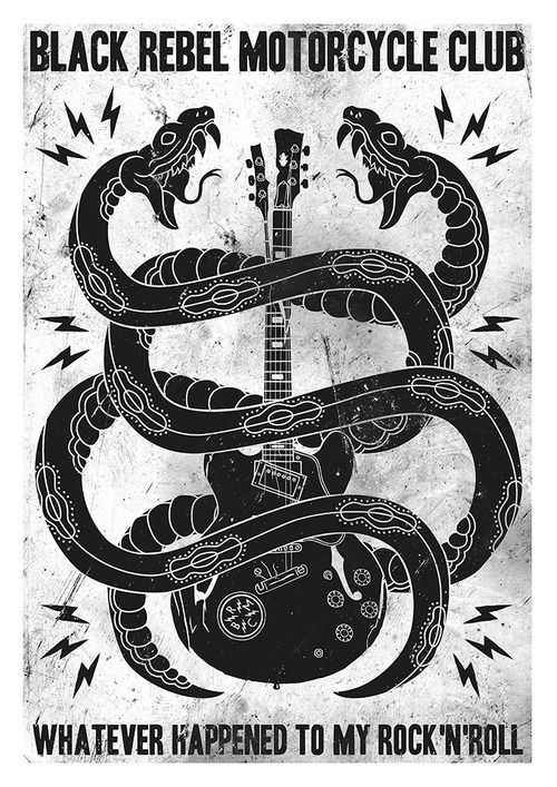 black rebel motorcycle club another day pinterest rock n roll design and snakes. Black Bedroom Furniture Sets. Home Design Ideas