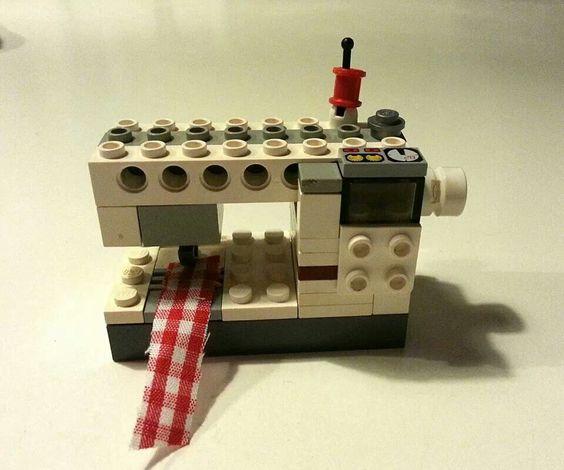 Nähmaschine  Lego  Pintere
