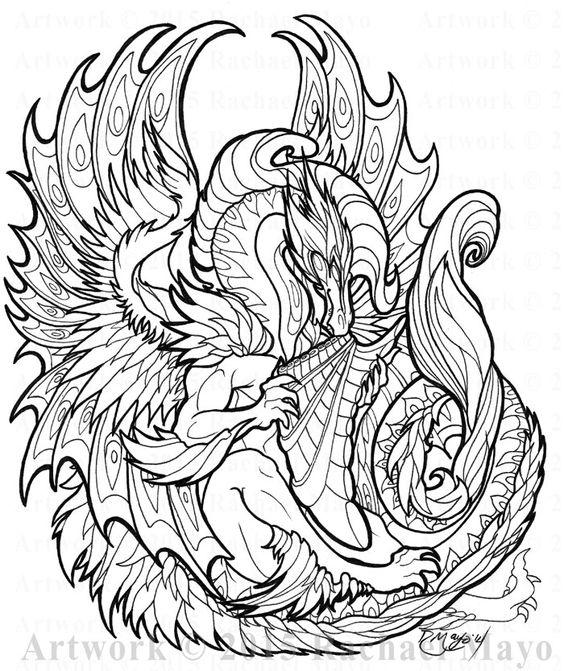 Dragon Fantasy Myth Mythical Mystical Legend Dragons Wings ...