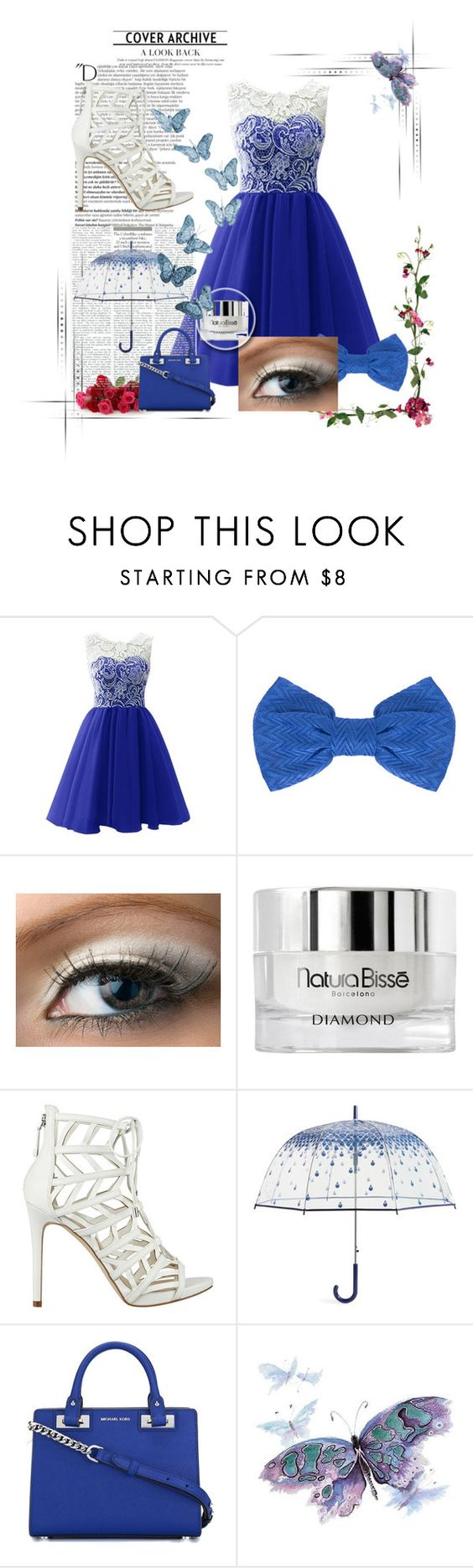 """Fancy Night Out"" by elsie-clark ❤ liked on Polyvore featuring beauty, Missoni, Natura Bissé, GUESS, Vera Bradley, MICHAEL Michael Kors and Balmain"