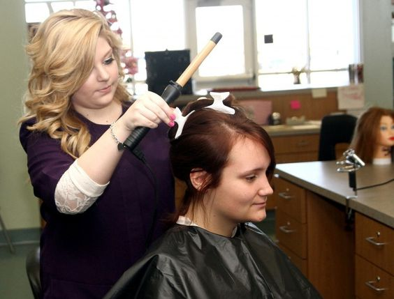 High school students put cosmetology skills to use | employability ...