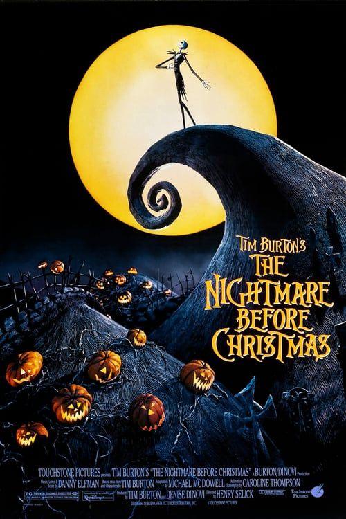 Watch The Nightmare Before Christmas 1993 Full Movie Online Film Tv Fantasi Horor