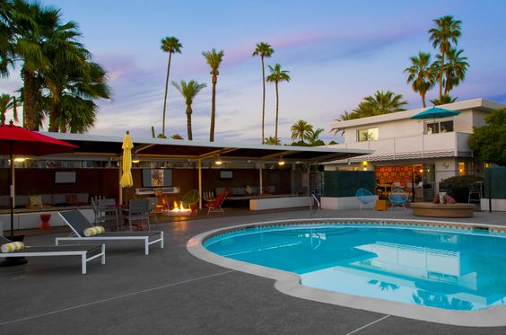 A beautiful evening poolside at El Dorado Scottsdale. #Vacation #Hotel #Pool #Summer #Arizona #Scottsdale #Travel