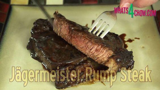 How to Make Jagermeister Steaks - Grilled Jagermeister Steaks - Plus 9 M...