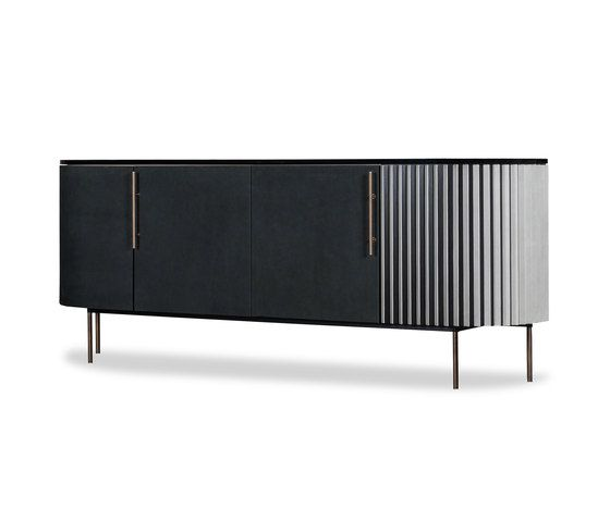 Plisse Low Cabinet By Baxter Sideboards