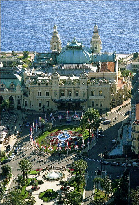 Hotel de Paris, Monte Carlo, Monaco -  1995