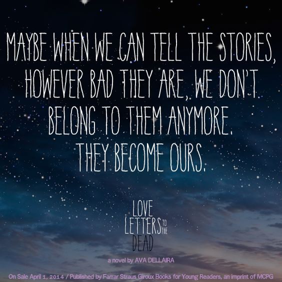 quote from love letters to the dead by ava dellaira | book quotes
