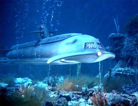 Submarino Civil do seriado Viagem ao fundo do mar