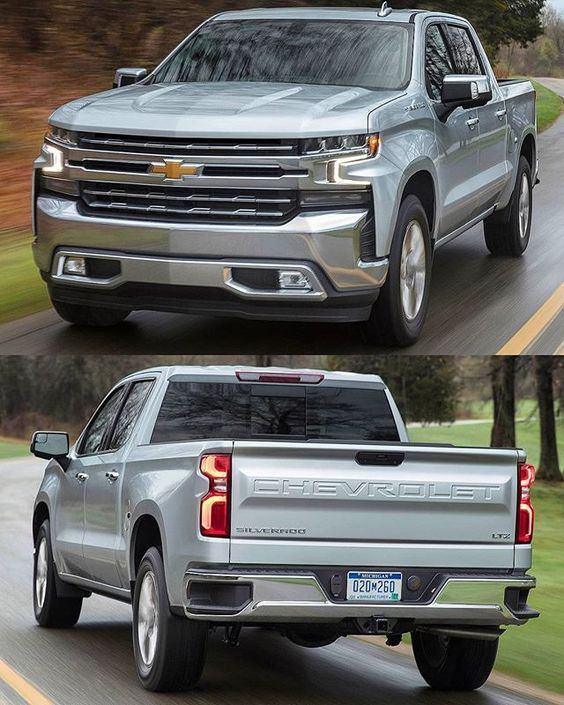 Explore The All New Silverado Pickup Truck With A Larger Presence