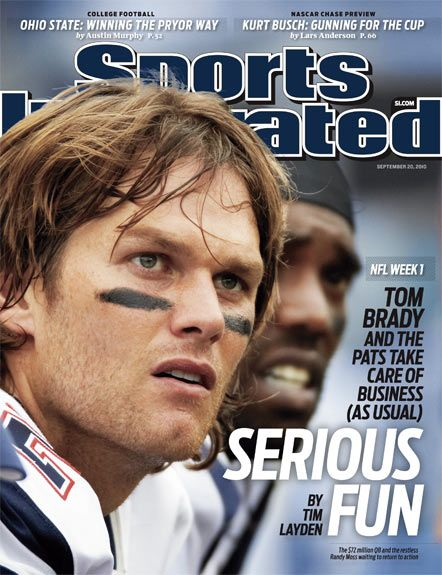 Tom Brady, Sports Illustrated coverboy, Sep, 2010 #Patriots