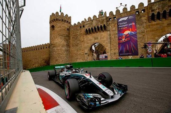 Azerbaycan Baku Formula 1 F 1 Baku