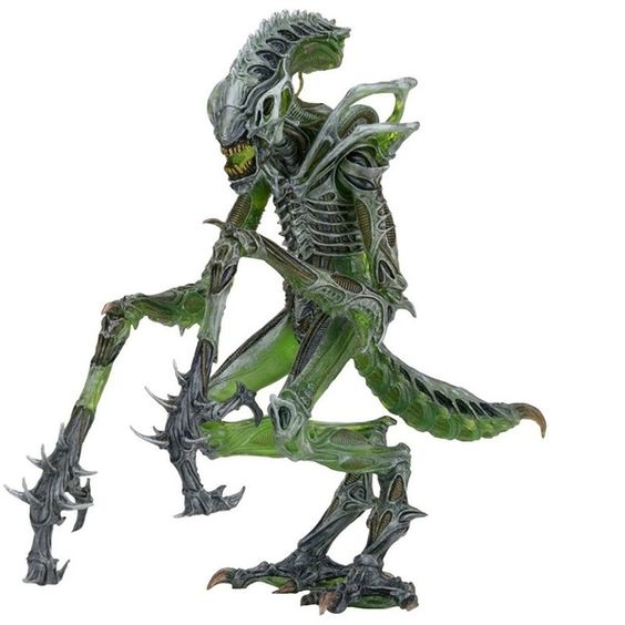 "Aliens 10 Séries Mantis Aliens /& Chest Burster Kenner 7"" Figurine Modèle NECA"