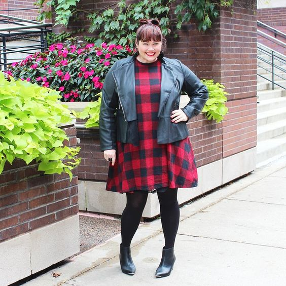 Plus Size Blogger Amber from Style Plus Curves