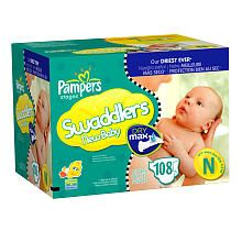 "Pampers Dry Max 108 Ct Swaddler Diaper Value Box - Newborn - Procter & Gamble - Babies ""R"" Us"