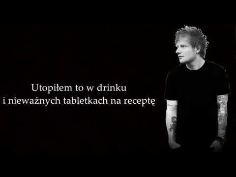 Ed Sheeran Save Myself Tlumaczenie Pl Youtube Ed Sheeran Youtube Muzyka