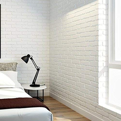 Room Inspo Image By Alison Brick Wall Wallpaper Living Room