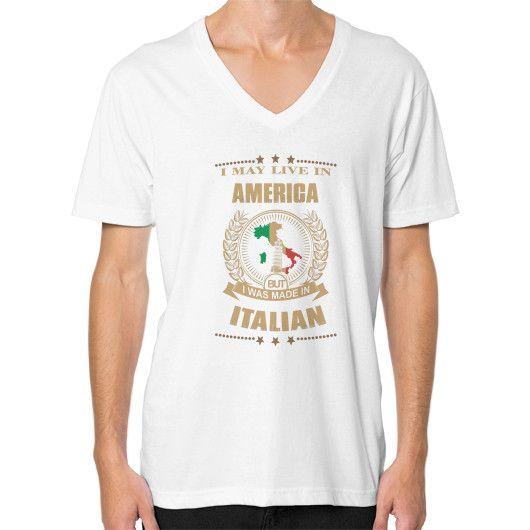 ITalian V-Neck (on man)