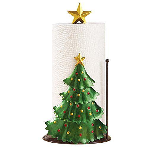 Christmas Kitchen Decoration Christmas Tree Paper Towel Holder Christmas Kitchen Decor Christmas Kitchen Paper Towel Holder