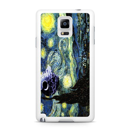 Skellington on a Starry Night Samsung Galaxy Note 4 Case