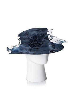Giovannio Women's Dotted Hat, Navy
