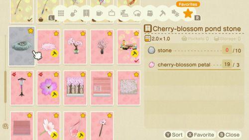 Animal Crossing Fun Times Cinnamocchi Euphoriacrossing Ben Crossing Animal Crossing Cherry Blossom Petals Diy Set