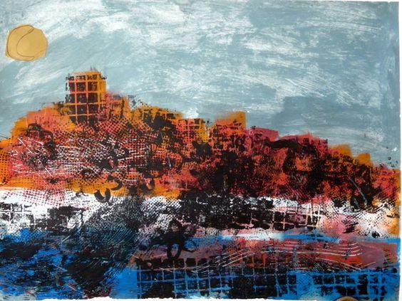 les petites têtes de l'art: La ville pétrifiée d'après Max Ernst