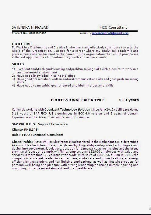 curriculum vitae template academic Beautiful Excellent - sap fico consultant sample resume