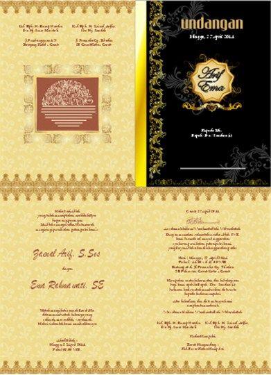 3000 Desain Undangan Perkawinan Perkawinan Pernikahan Khitanan Ultah Desain Grafis Terlengkap Dan T Desain Undangan Perkawinan Undangan Undangan Perkawinan