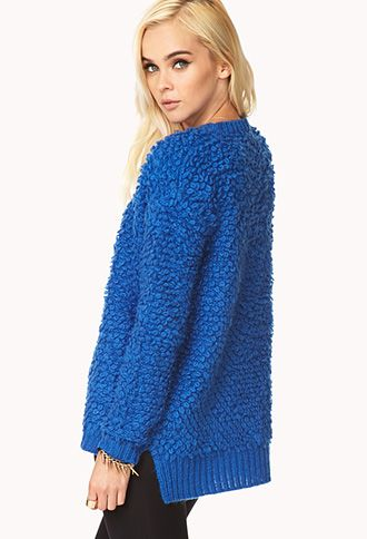 Groovy Shag Sweater | FOREVER 21 - 2000074683