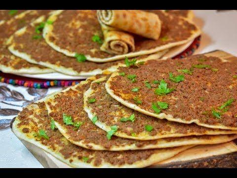 صفيحه باللحم لحم بعجين صفيحه سريعه مخبوزه على صاج وممكن تعملوها با Savoury Food Cooking Recipes Lebanese Recipes