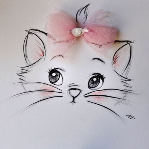 Aristocats Marie Drawing Via My Darling Rainbow Http