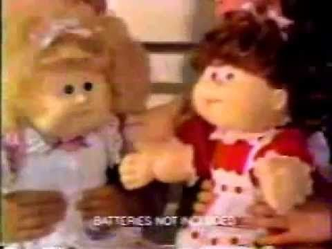 Cabbage Patch Kids Talking Dolls Ad From 1987 Youtube Cabbage Patch Kids Cabbage Patch Kids Dolls Kids Talking