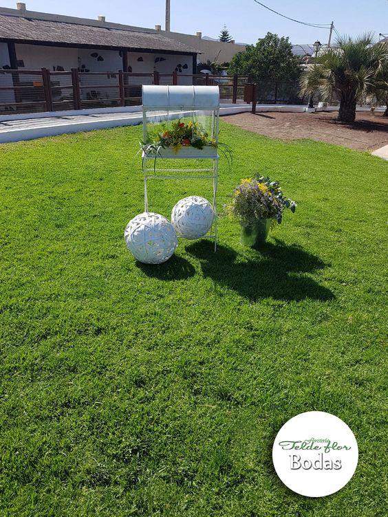 TELDE FLOR FLORISTERIA: Finca los Olivos - Decoración por la Floristería Telde Flor