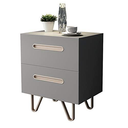 Teng Peng Bedside Table Nordic Simple Modern Bedroom Double