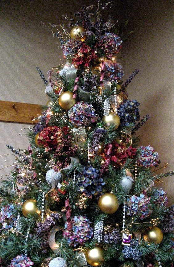 Perennial Passion: Hydrangea Christmas Tree