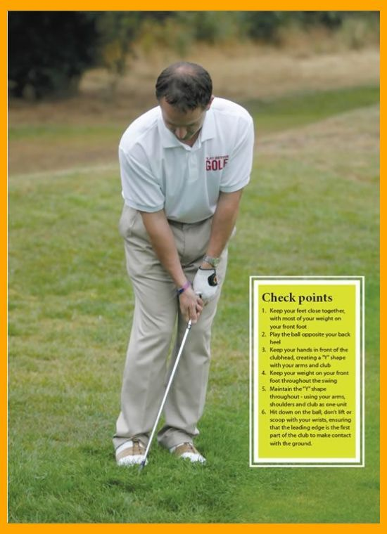 Golf Chipping 6 Steps To Perfect Chip Shots Golf Chipping Tips Ladies Golf Tips Golf Golf Chipping Golf Chipping Tips Chipping Tips