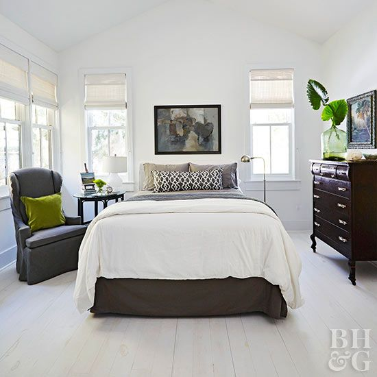 White Bedroom Ideas That Are Anything But Boring Dark Bedroom Furniture Dark Wood Furniture All White Bedroom