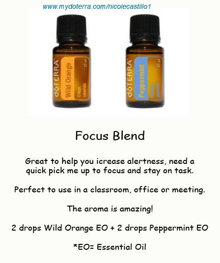 Focus Blend Great To Help You Get Through The Day And Pay