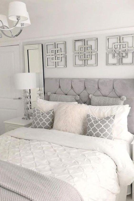 33+ Grey bedroom headboard ideas ppdb 2021