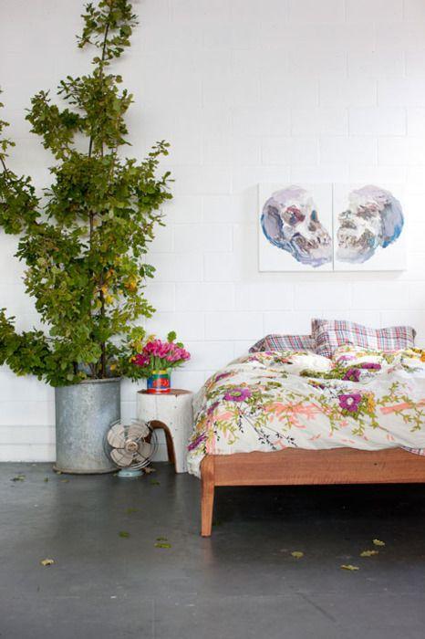 Bedside tree.