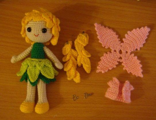 Amigurumi fairy doll - Haken Poppen Pinterest ...