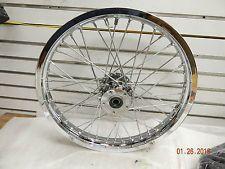 2.15x21 Front Spoke wheel chrome Billet Harley Wide Glide FXWG 3/4 axle 1980-83