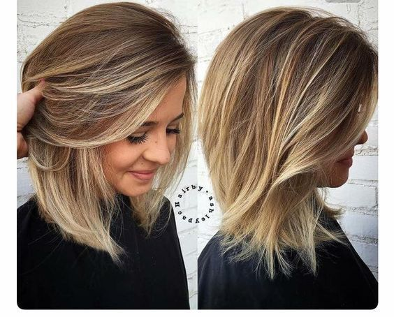Short To Medium Hairstyles For Thick Hair Haircut For Thick Hair Hair Styles Thick Hair Styles